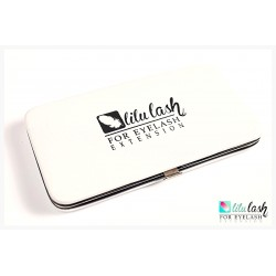 Magnetic pencil case for tweezers  - White